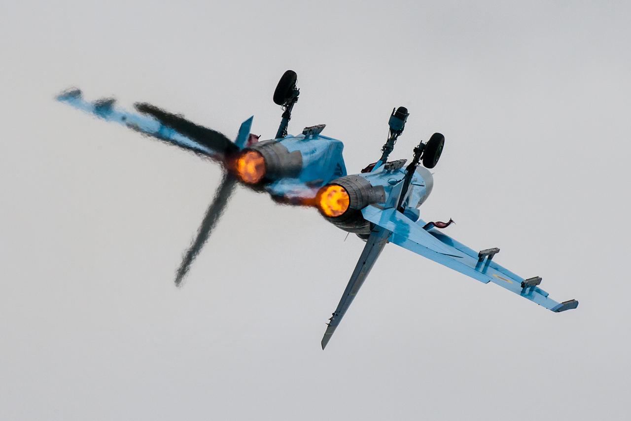 Sukoi Su-27P1M (NATO Code: FLANKER)  -  © by Will Moore