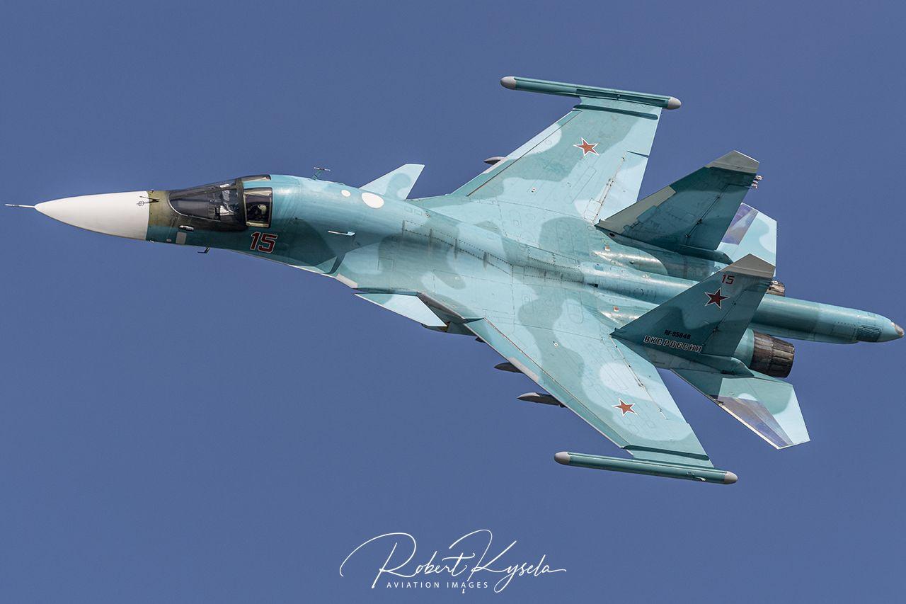 Sukhoi Su-34 (NATO Code: FULLBACK)  -  © by Robert Kysela