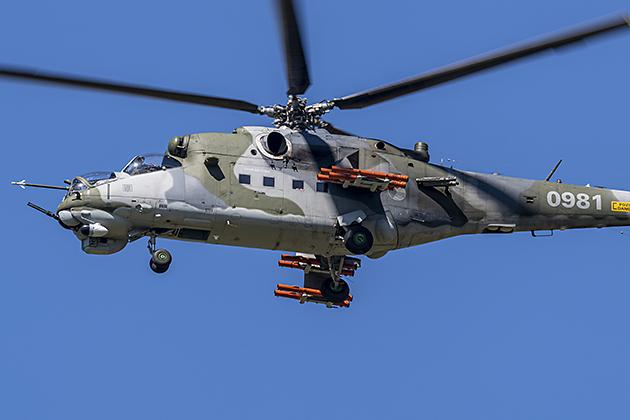 Mil Mi-24D (NATO Code: HIND E) - © by Robert Kysela