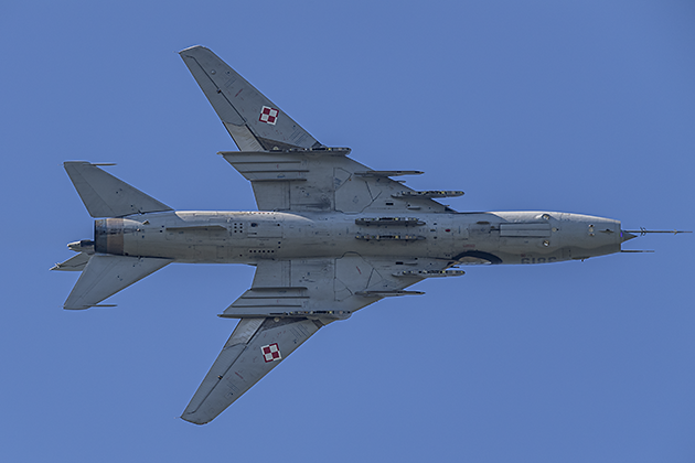 Sukhoi Su-22M4 (NATO Code: FITTER K) - © by Robert Kysela