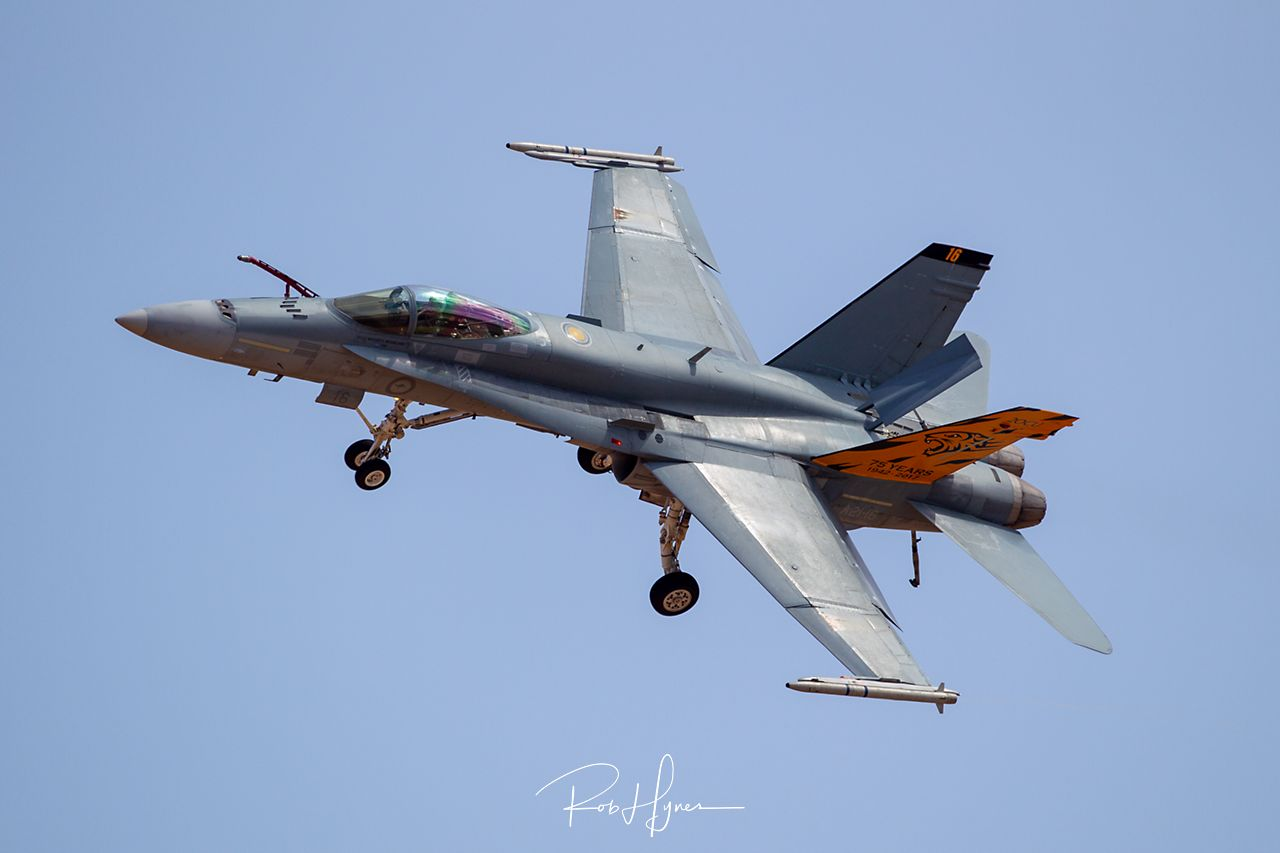 Boeing F/A-18C HORNET   - © by Rob Hynes
