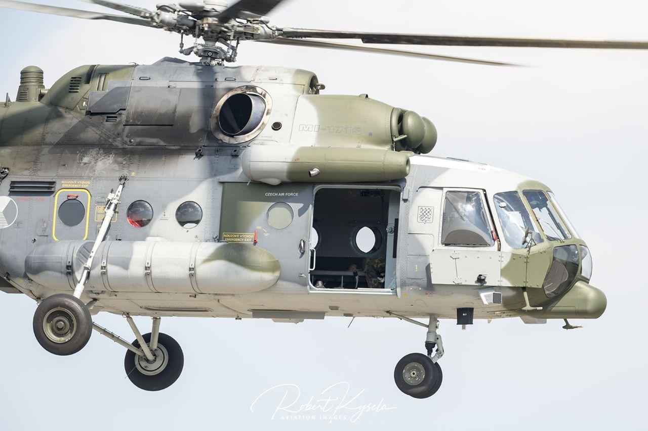 Mil Mi-171Sh SOF II (NATO Code: HIP C)  -  © by Robert Kysela
