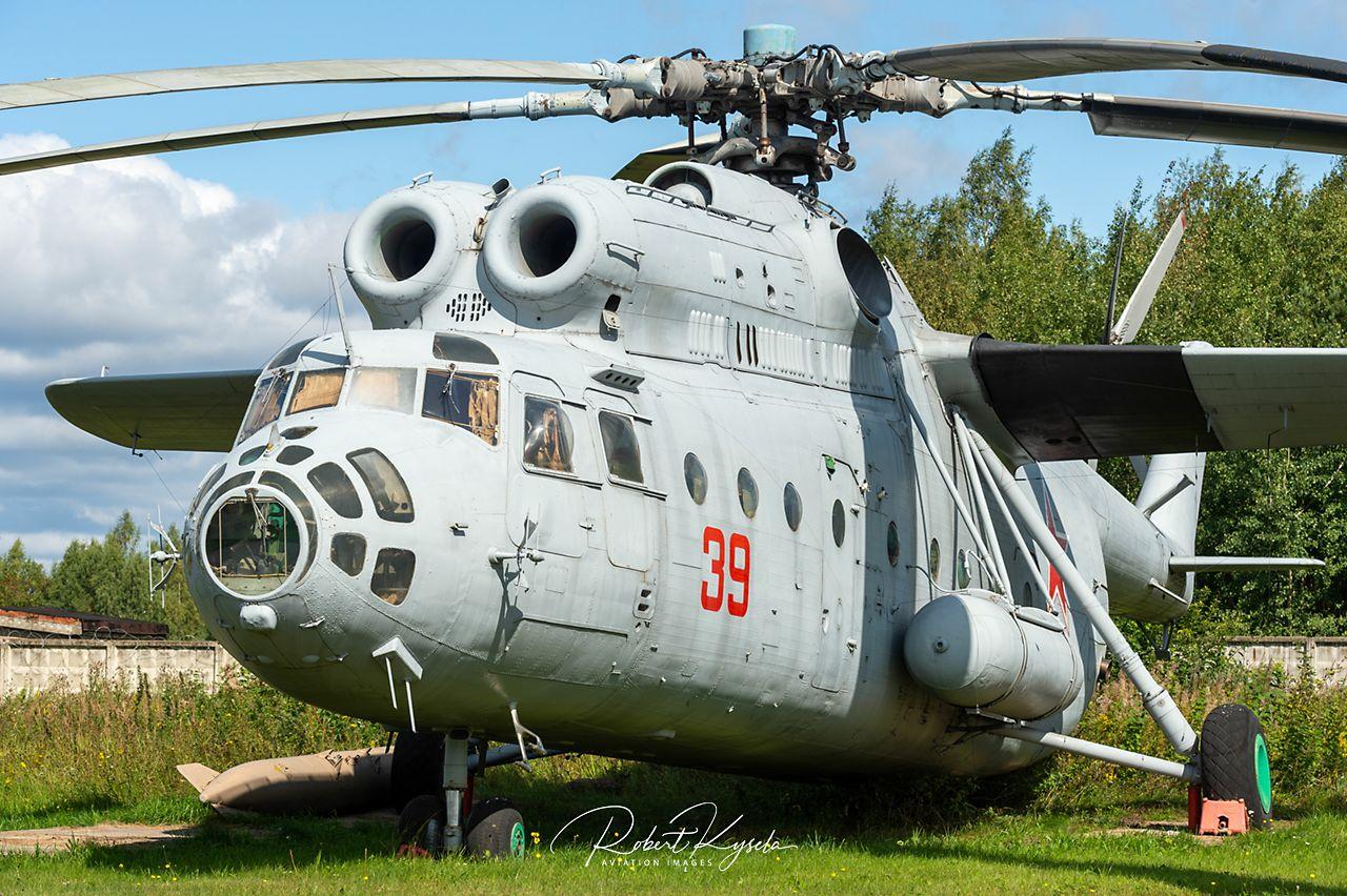 MIL Mi-6VzPU (NATO - Code: HOOK-D)   - © by Robert Kysela