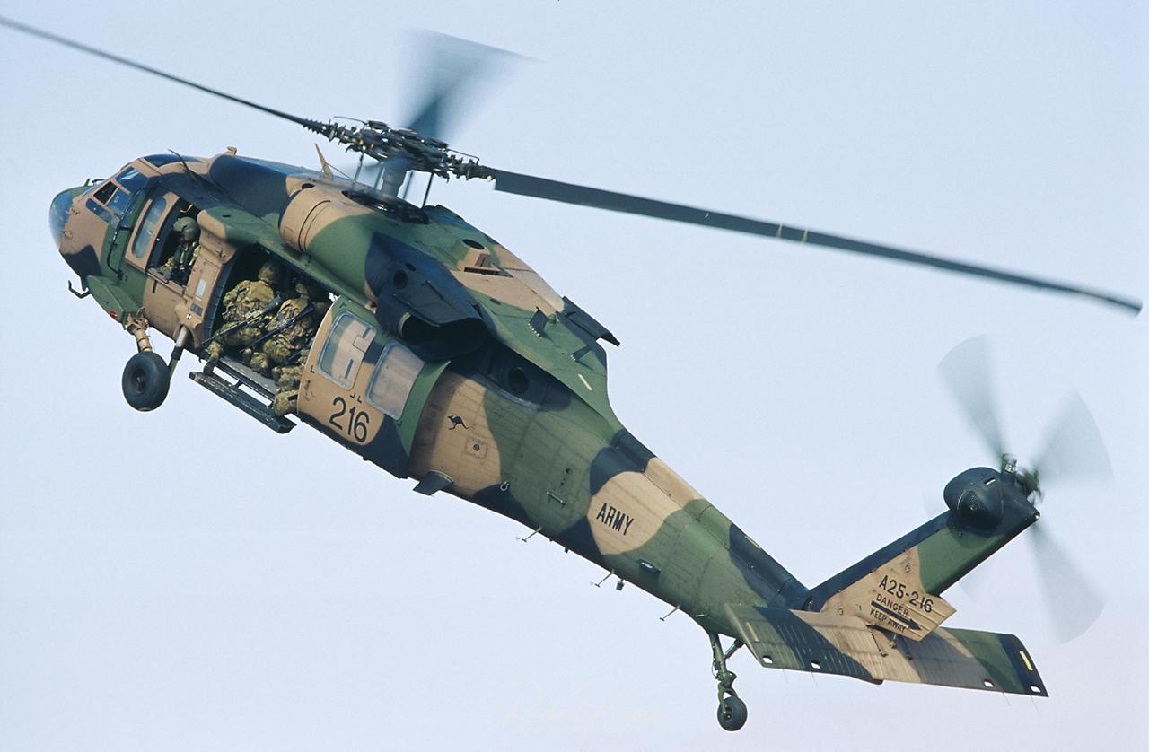 Sikorsky S-70A-9 BLACK HAWK  -  © by Robert Kysela