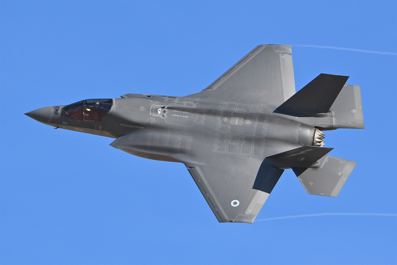 Lockheed Martin F-35B LIGHTNING II  -  © by Shawn Clish