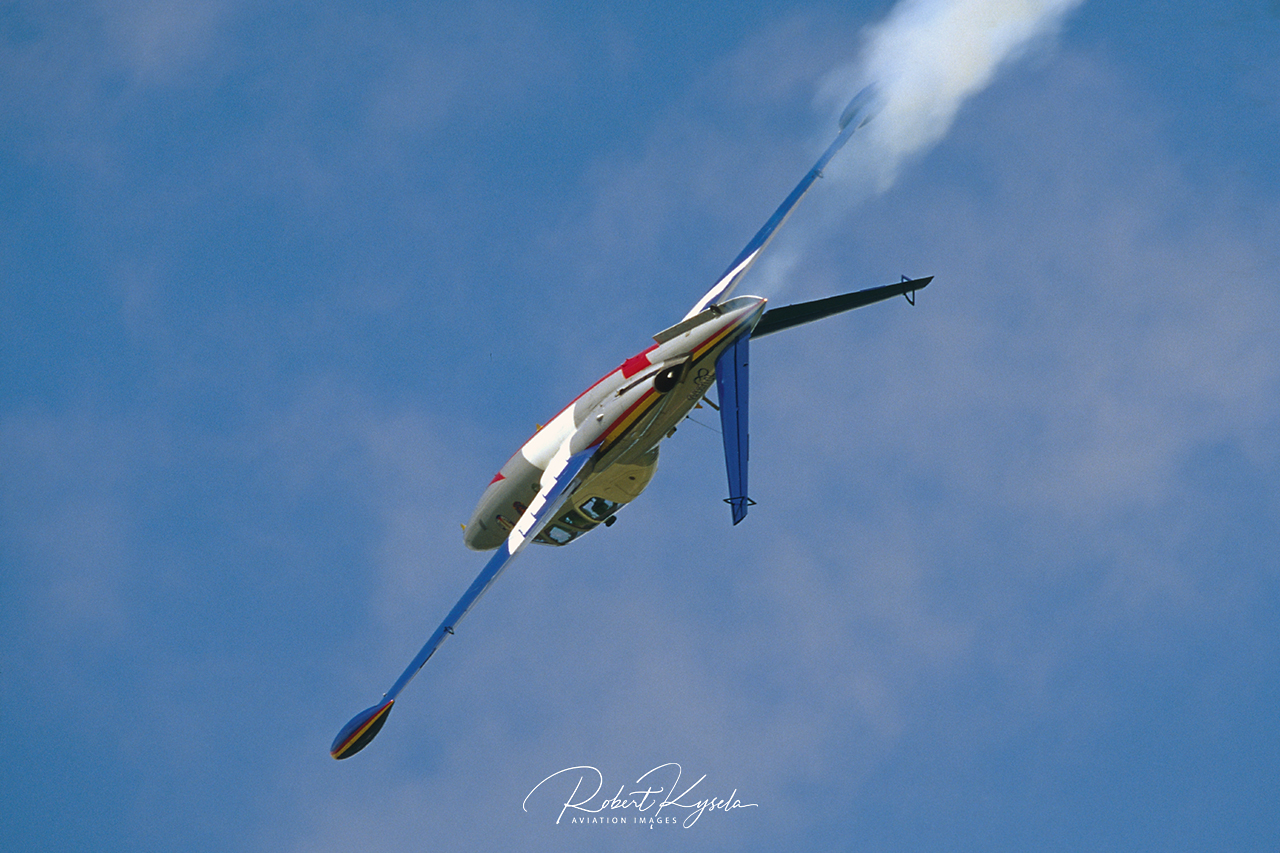 Fouga CM-170 MAGISTER  -  © by Robert Kysela