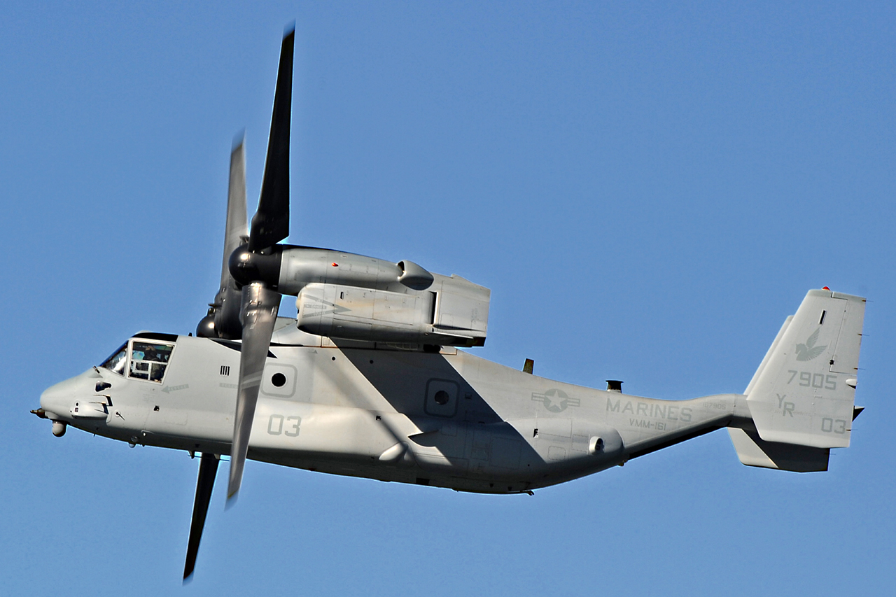 Bell Boeing V-22 OSPREY  -  © by Shawn Clish