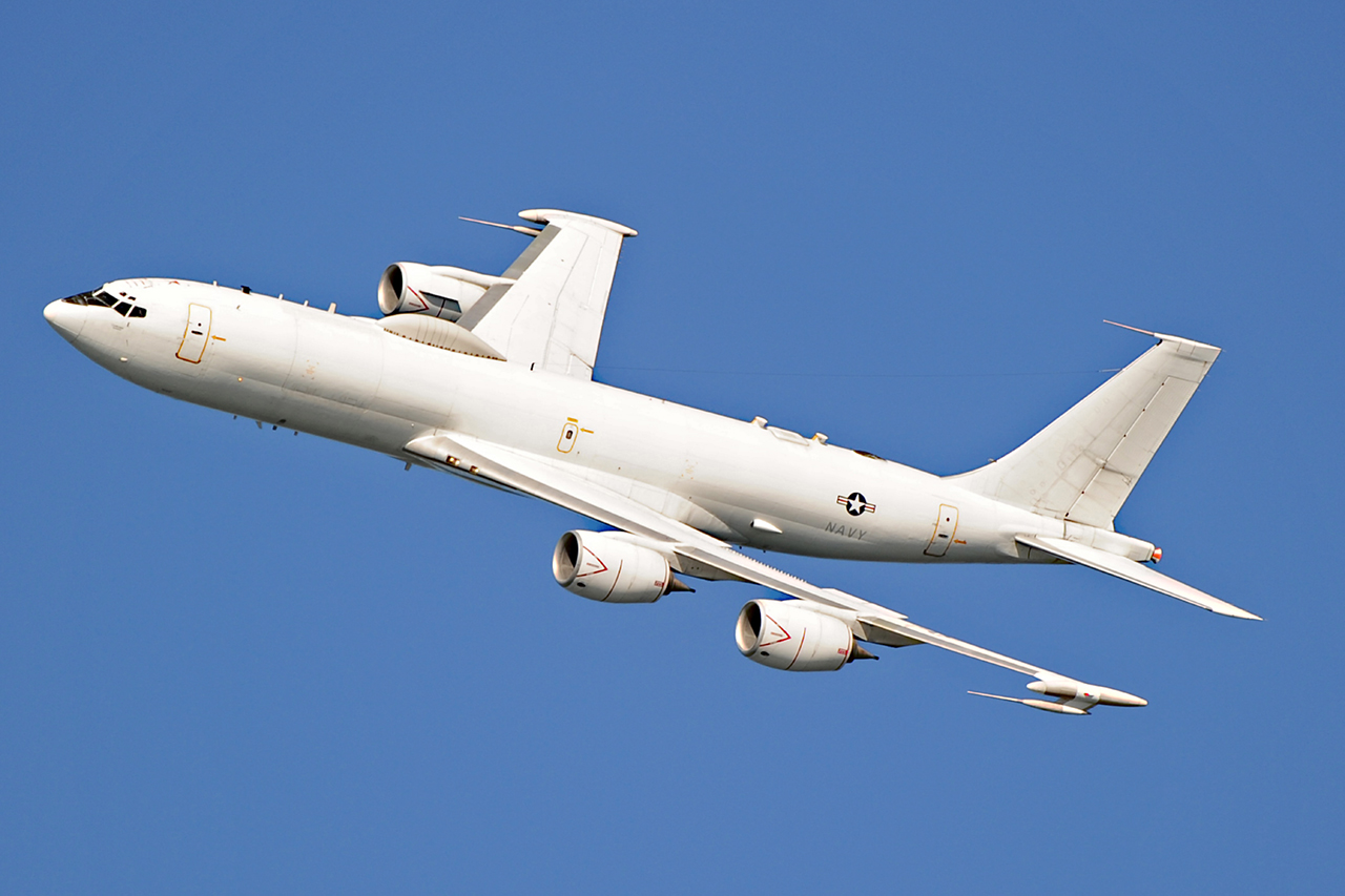 Boeing E-6B MERCURY  -  © by Shawn Clish