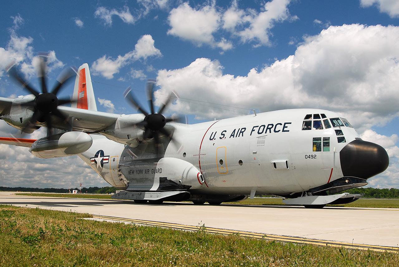 Lockheed Martin LC-130J HERCULES  -  © by Shawn Clish 2009