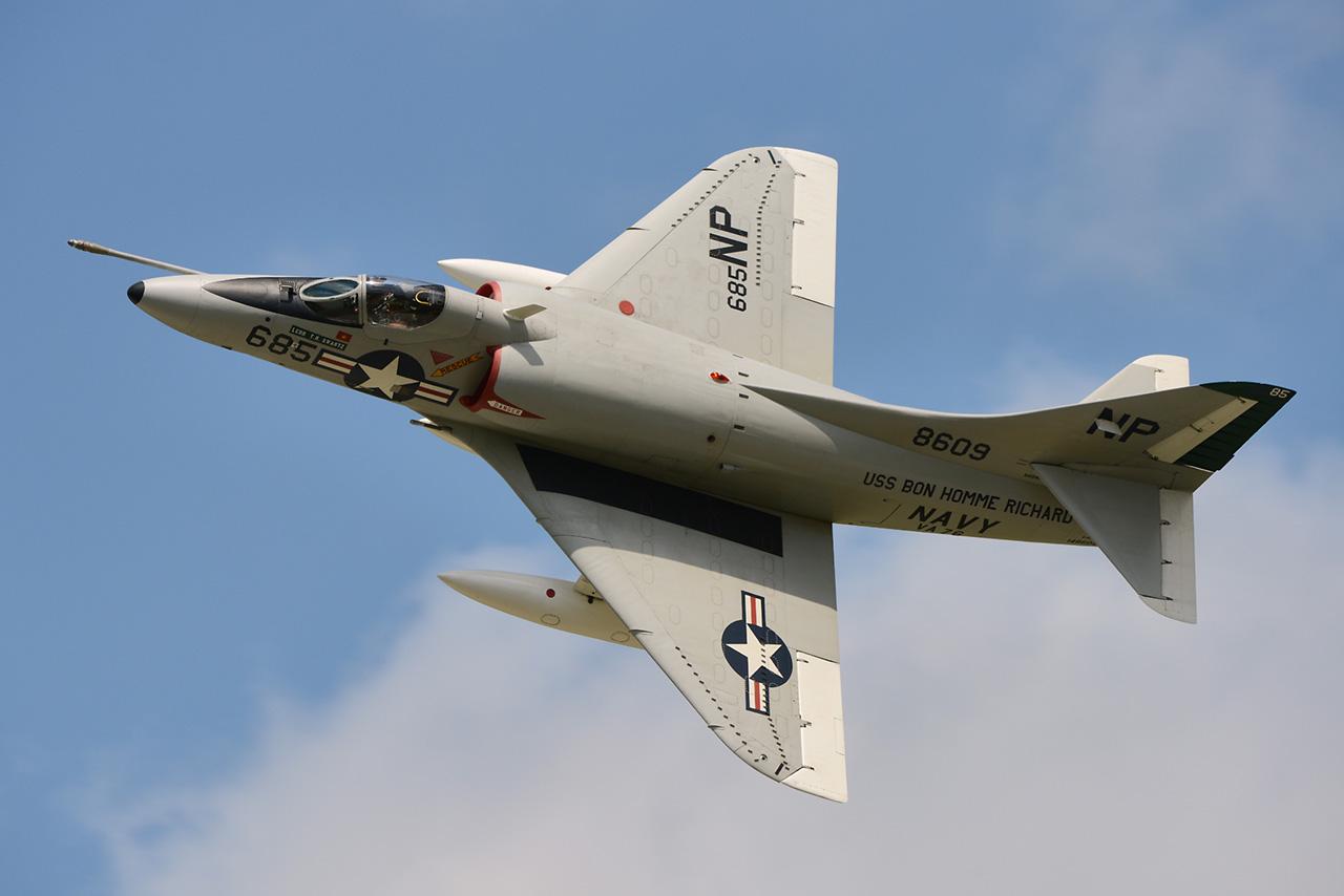 Douglas A-4B SKYHAWK  -  © by Shawn Clish 2013