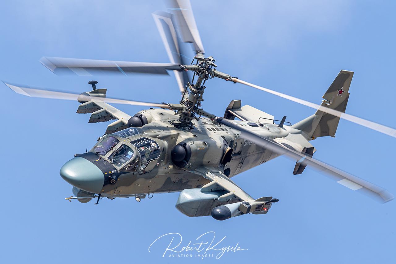 Kamov Ka-52 ALIGATOR -  © by Robert Kysela