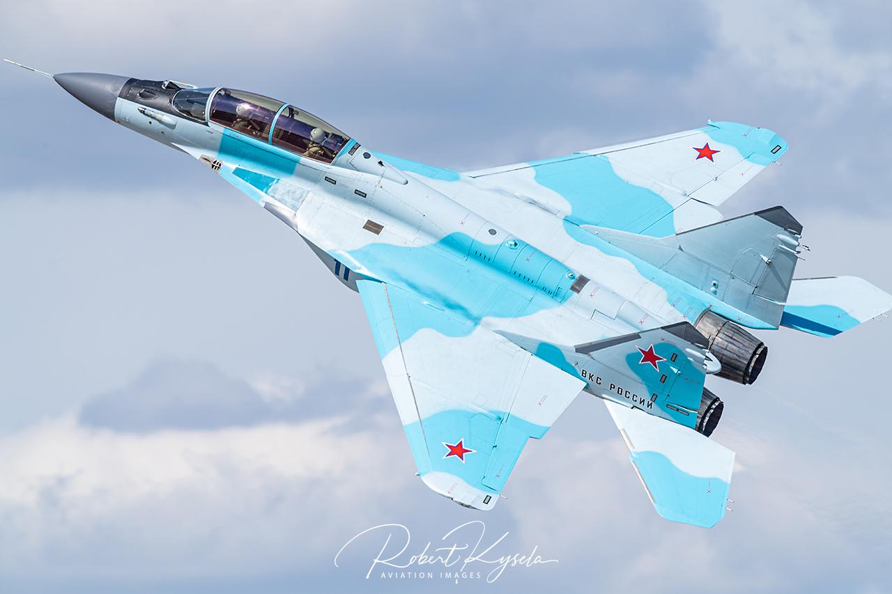 RAC MiG-35D (NATO-Code: Fulcrum F) -  © by Robert Kysela