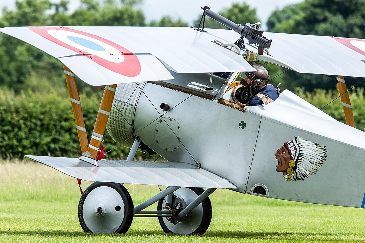 Nieuport 17  -  © by Will Moore