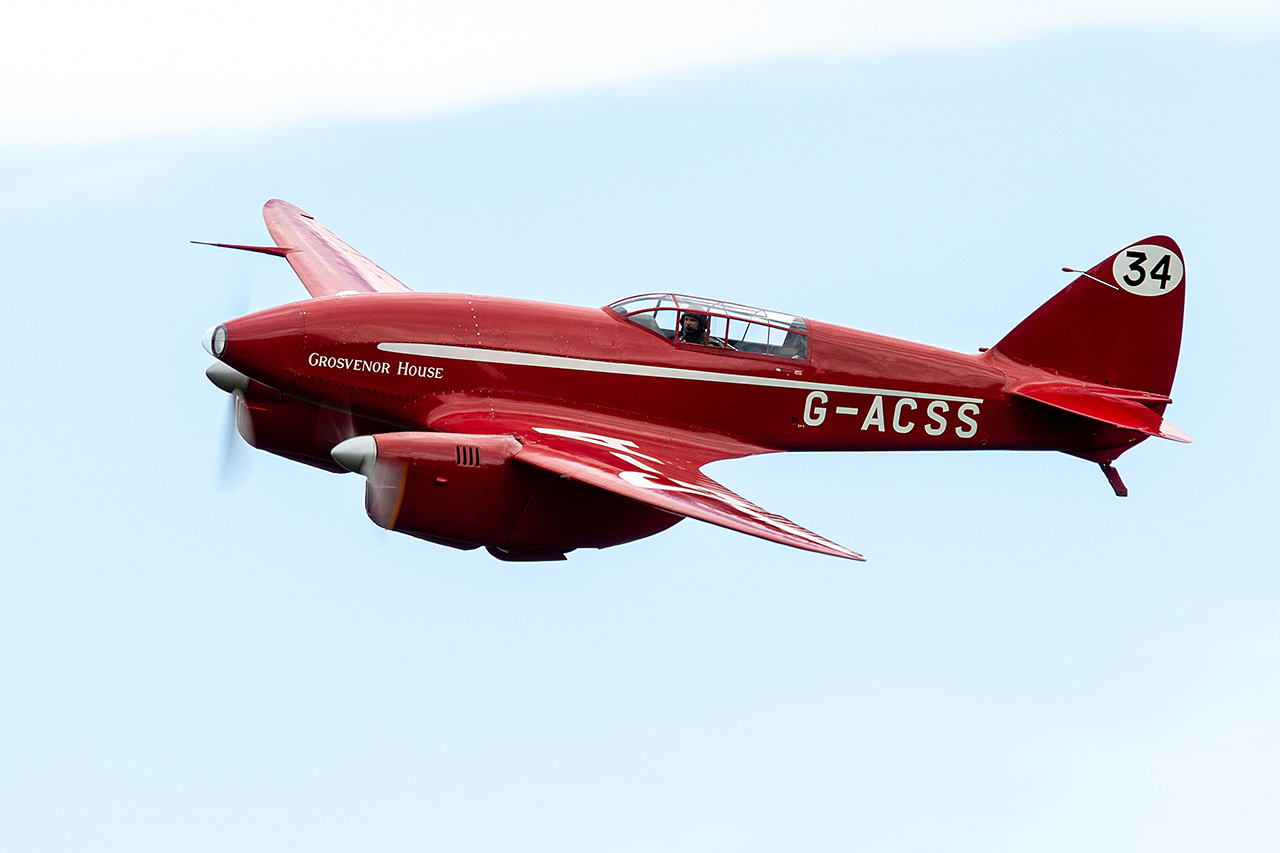 deHavilland DH.88 COMET  -  © by Will Moore